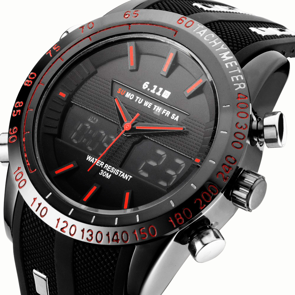Top Brand Fashion Watch Mens Luxury Sports Watches Digital Military Men Quartz Silicone strap Watch Male Clock Relogio Masculino hongc watch men quartz mens watches top brand luxury casual sports wristwatch leather strap male clock men relogio masculino