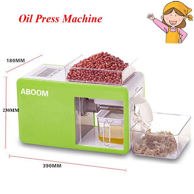 Household Automatic Oil Press Machine Small Steel Commercial Electric Oil Making Machine for Olive,Soybean YD-CD-0103 commercial automatic ice maker household electric bullet round ice making machine 15kg 24h family small bar coffee teamilk shop