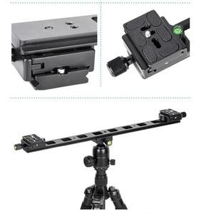 """Image 5 - Manbily PU 480 Allunga piastra di montaggio Veloce 1/4 """"Universale del Treppiede piastra a sgancio rapido mini slitta per la macchina fotografica DSLR 480x38x10mm"""