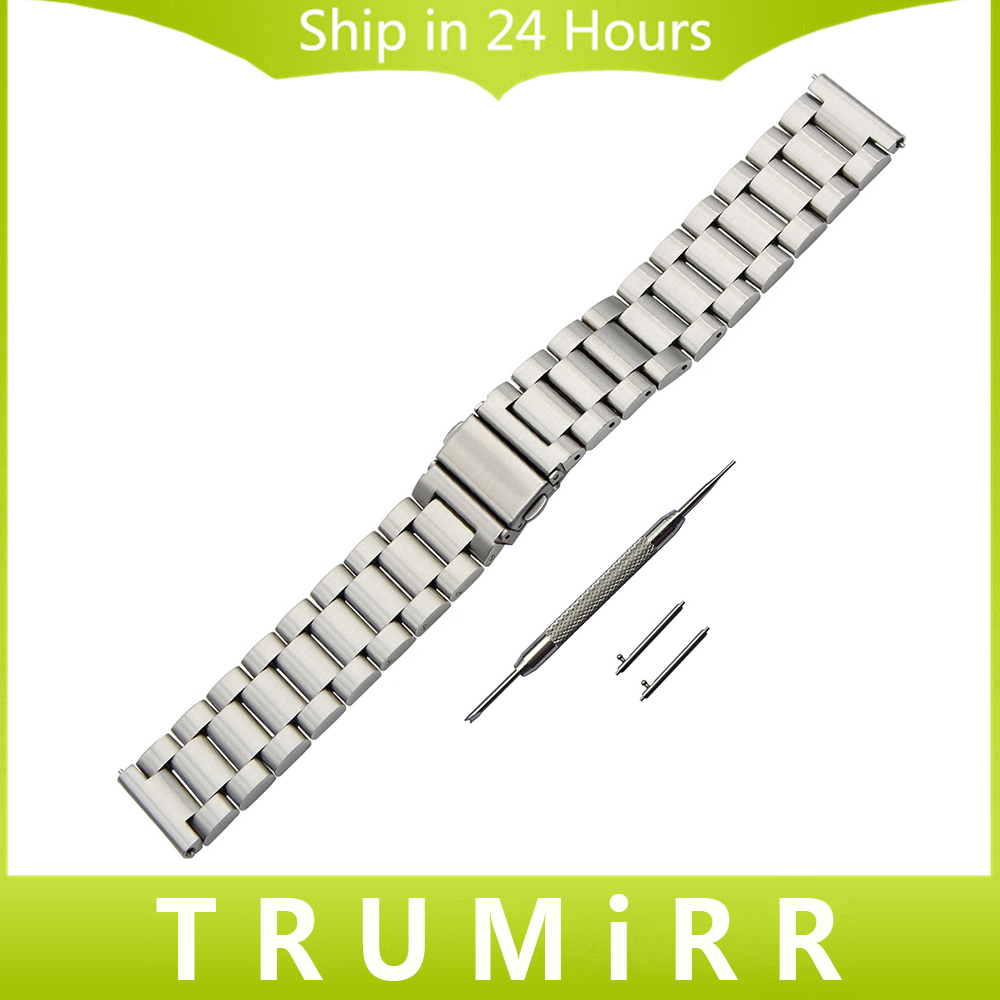 18mm 20mm 22mm Quick Release Watch Band for TAG Heuer Carrera Aquaracer Men Women Stainless Steel Strap Wrist Bracelet Silver bluetooth music headphone wireless headset stereo running earphone with mic for iphone 7 samsung xiaomi pc sport bass earphones
