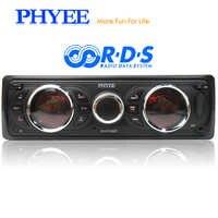 1 din Autoradio staccabile RDS Bluetooth Stereo Audio A2DP Vivavoce AM FM USB SD Unità principale ISO ISO PHYEE SX-MP3382BT