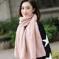 Korean female winter long scarf knitted scarf thick warm winter wool scarf woman students