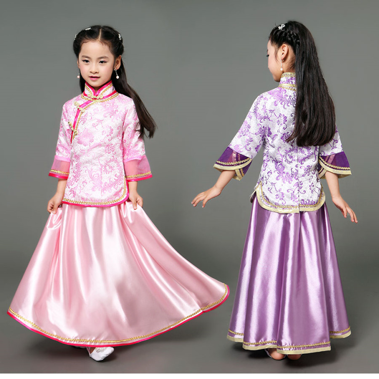 2018 spring hot chinese dance costumes minguo style chinese dance costume girls traditional ancient chinese clothing boys costumes scholar costumes chivalrous person costumes novelty costumes ancient chinese wear