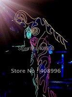 Светодиодный провод вверх трико для клубного вечернего представления/карнавала/сценического представления