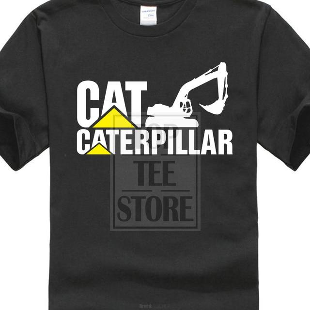 e15ada02ed1a New Caterpillar Logo Short Sleeve Black Men S T Shirt Size S 4Xl-in ...