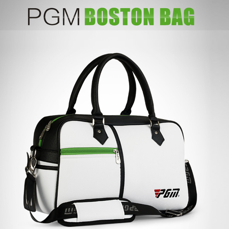 PGM Top Quality PU Golf Clothing Bag Waterproof Capacity Durable Golf Shoes Bag Men Women Portable Golf Handbag For Shoes pgm genuine golf standard durable bag waterproof lady golf capacity standard ball bag embroidered package contain full set club