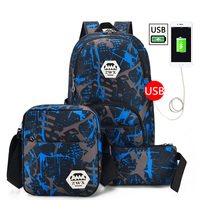 Multifunction USB Charging Men Laptop Backpacks Fashion Women Travel Shoulder Bags Mochila Leisure Travel Bags For