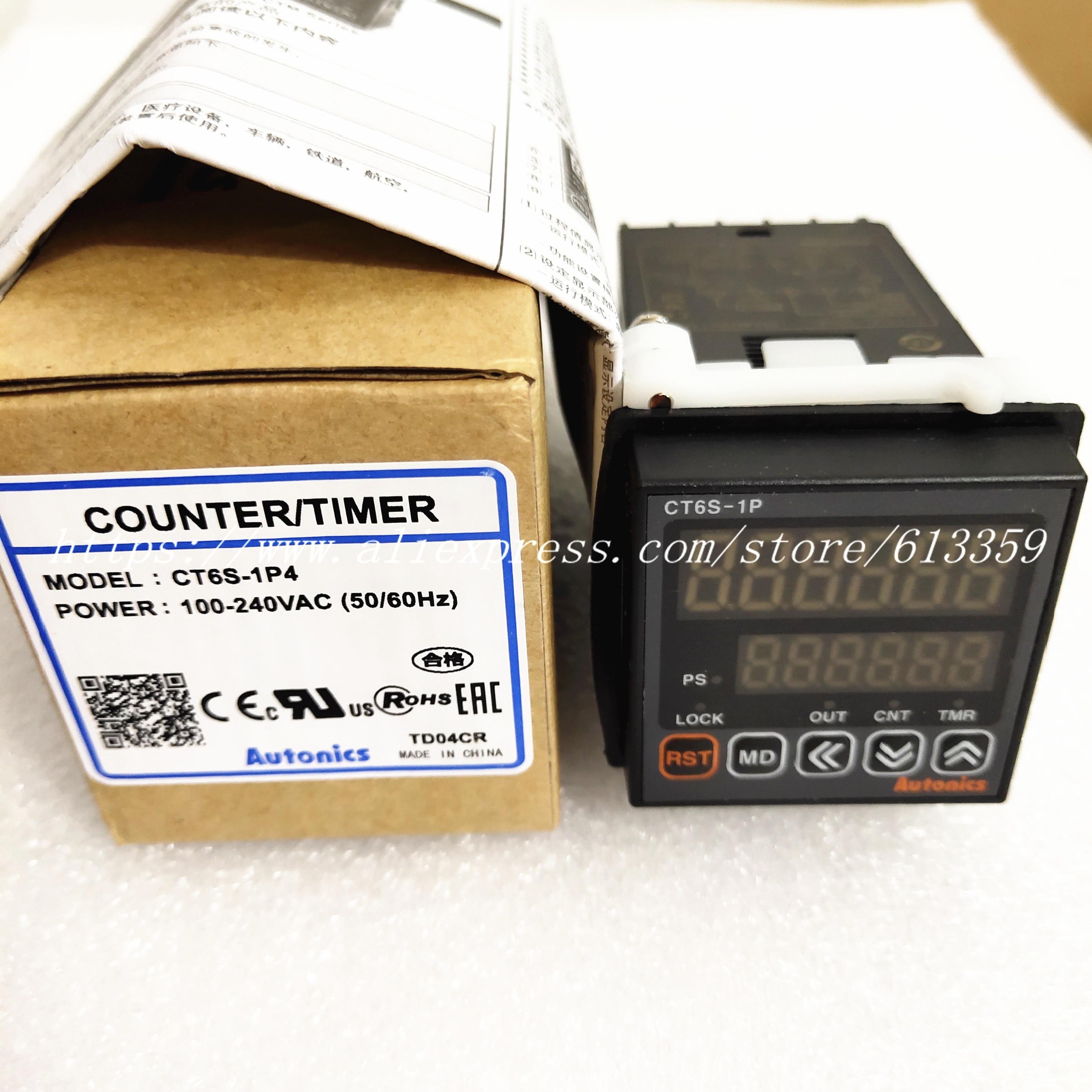 CT6S 1P2 CT6S 1P4 オートニクス多機能タイマーカウンター 100% 新オリジナル  グループ上の 電子部品 & 用品 からの EL 製品 の中 1