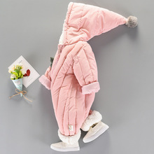 Baevllery Winter Overalls Baby Rompers Jumpsuit Cotton
