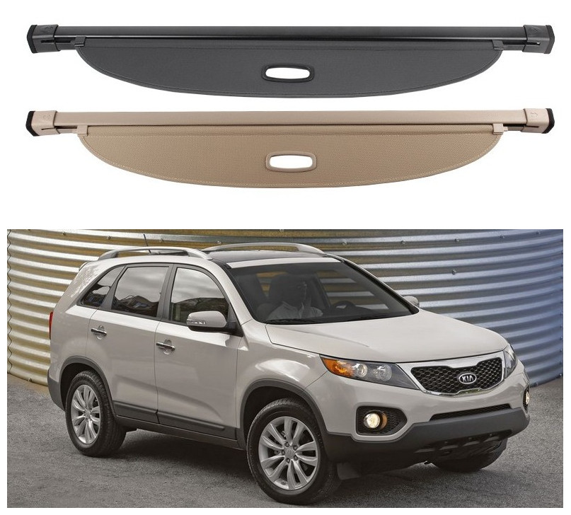 2011 Kia Sorento Accessories: For KIA Sorento 2009 2010 2011 2012 Rear Trunk Cargo Cover