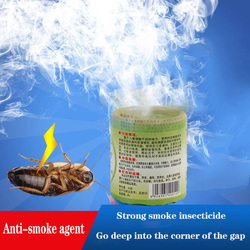 Hot 6PCS for cockroach poison in tobacco smoke  insecticides aromatherapy cockroach medicine smoke bomb Alice Bombs bait Fray