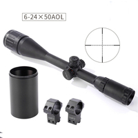 Shooter New Tactical Military ST 6 24x50AOE Rifle Scope For CS Game Hunting Shooting OS1 0356