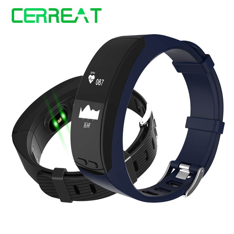 P5 GPS Fitness Bracelet Heart Rate Monitor Smart Band Smart Wristband Watch Phone Activity Tracker PK