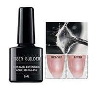 1pc fibre Bulider ongles Gel rapide bâtiment réparation ongles cassés tremper hors UV Gel prolonger ongles conseils longue durée ongles Art outils