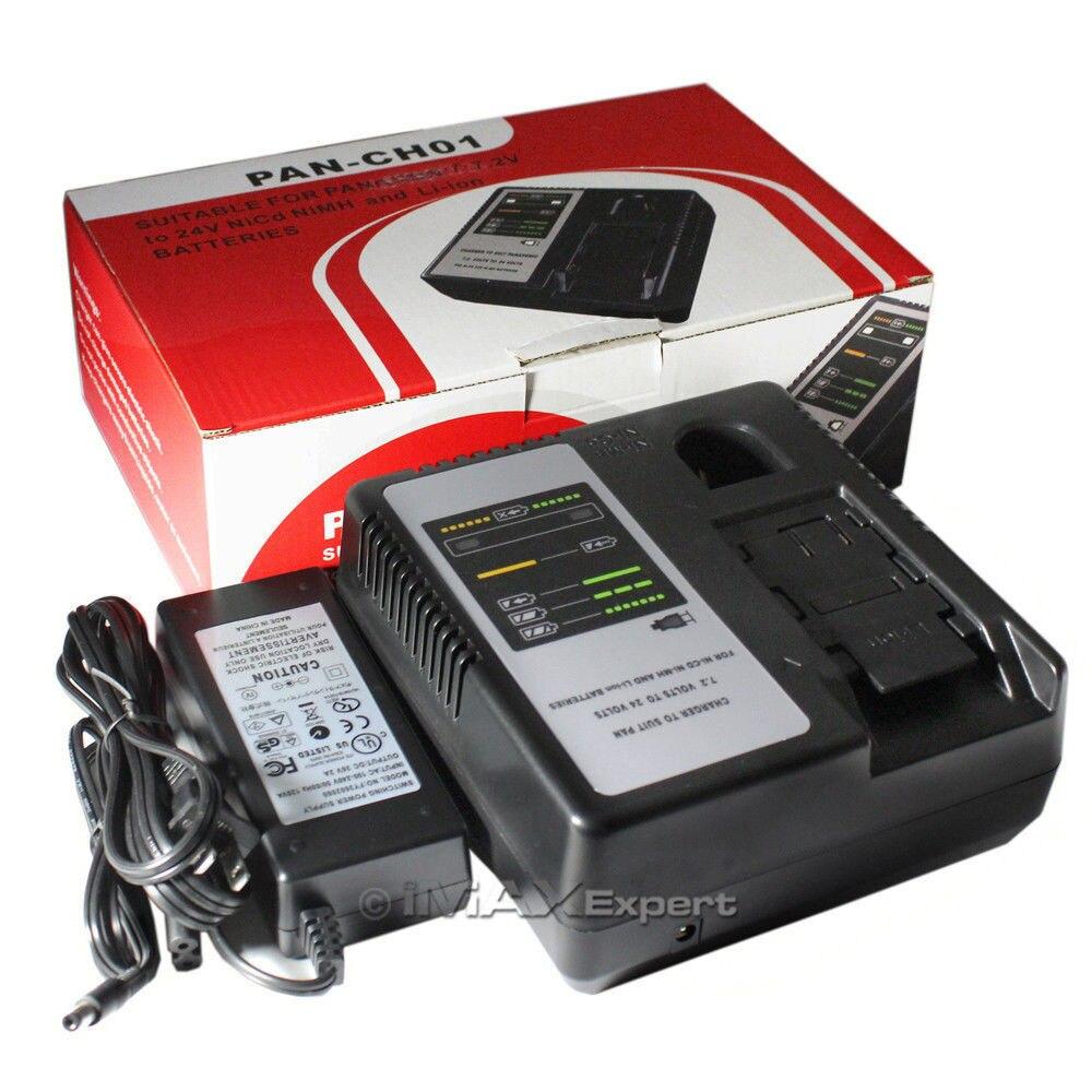 Замена Зарядное устройство для Panasonic 7.2 В 9.6 В 12 В 14.4 В 15.6 В 18 В 24 В nicd nimh литий-ионный Батарея ey0l81