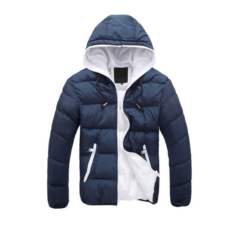 2016 Yeni Moda Tasarım Kış Ceket Erkekler Pamuk Erkek aşağı ceket Kapüşonlu Adam Ceket Ceket Erkekler Ceket ile Winterjacke