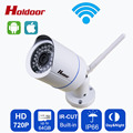 Onvif 2.0.4 Security IP Camera wifi Outdoor 720P Waterproof IP66 Night Vision Network 1.0MP HD CCTV Camera Support 64G SD Card