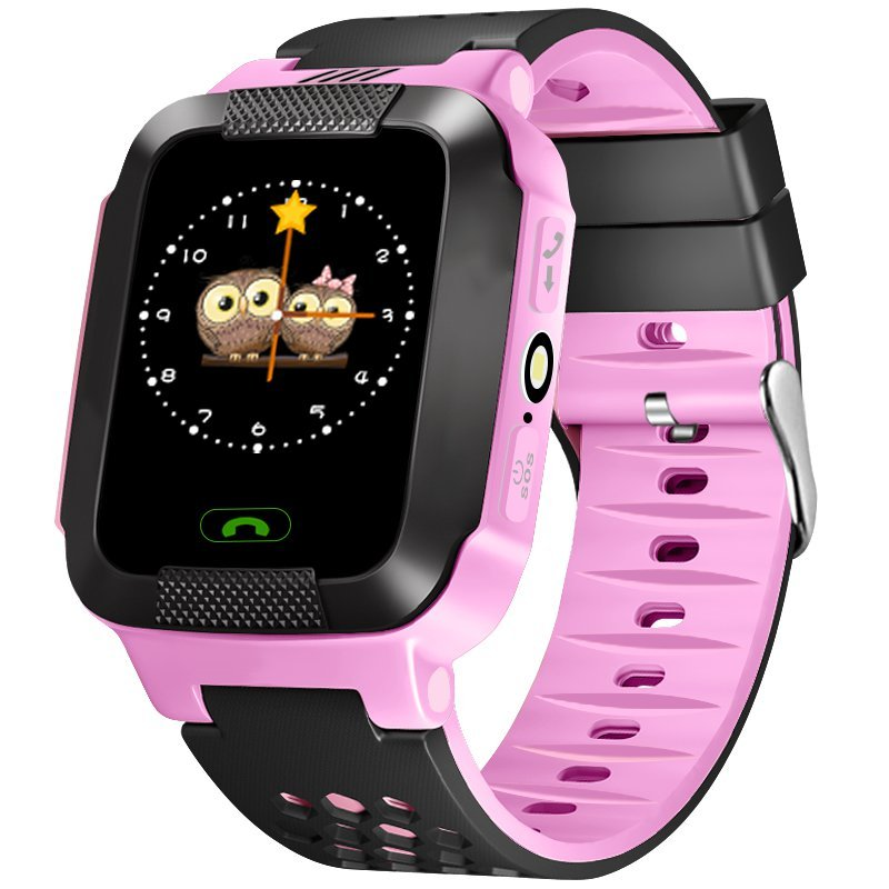 Children Watch Phone Positioning 1.22 Inch Color Touch Screen WIFI SOS Smart Watch