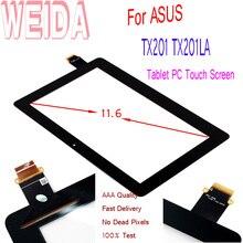 WEIDA сменная экранная панель для 11,6 «для ASUS Transformer TX201 TX201LA Tablet PC сенсорный экран дигитайзер панель Стекло