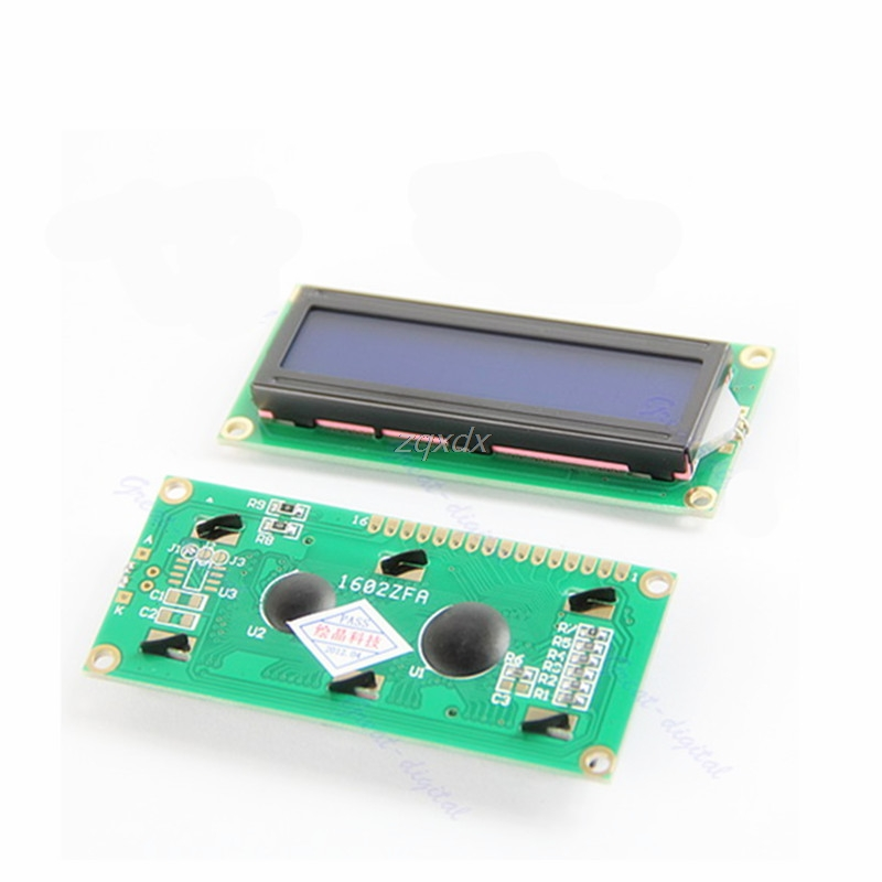 LCM 1602 16x2 HD44780 Controller Blue Blacklight Character LCD Module Display Z17 Drop ship