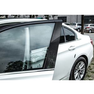 Image 4 - คาร์บอนไฟเบอร์หน้าต่าง B pillar Molding Trim สำหรับ BMW 1 3 5 Series E90 E60 F30 F10 X5 x6 X1 X3 E70 E71 F15 F16 F07 F25 E46 E84