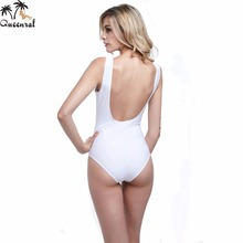 Queenral one piece bra monokini Backless Sexy biquini Beach Trikini Beach swimwear one piece bathing suits swimwear one piece