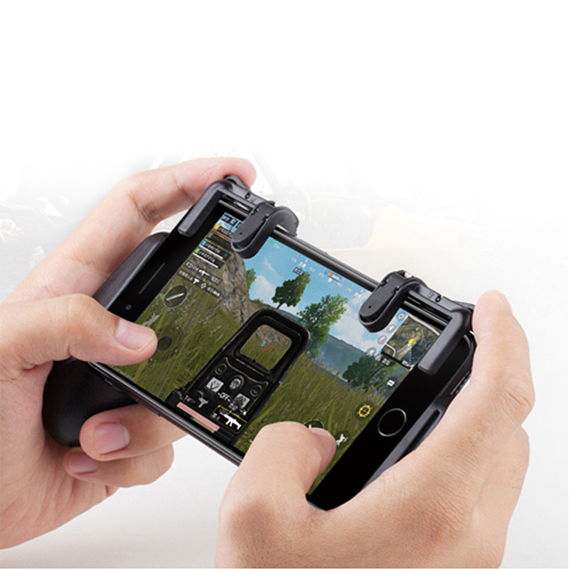 PUBG Mobile Game Controller Shooter Trigger Fire Button Pubg Aim Key Buttons L1 R1 Shooter Gamepads For Android and IOS PhonePUBG Mobile Game Controller Shooter Trigger Fire Button Pubg Aim Key Buttons L1 R1 Shooter Gamepads For Android and IOS Phone