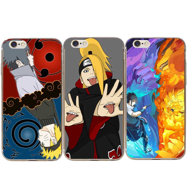 588ee3ac8ad Japanese Anime Uzumaki Naruto Phone Cover Casees For Apple iphone 5 5S SE 6  6S Plus 7 7 Plus 8 8 Plus X XR XS MAX Coque Capa