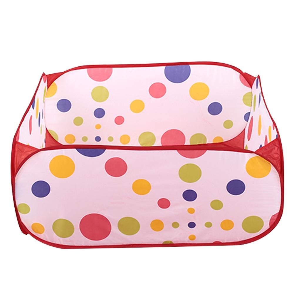 Прочный детский тканевый бассейн на молнии сумка для переноски открытый игрушечный мяч бассейн для игрушек палатки Прямая