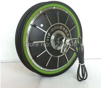 Pedal electric vehicles 16*2.50 or 16*3.0  48V  500W 16inches 500RPM  Brushless Non-gear Hub motor