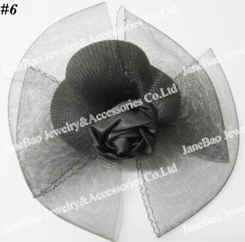 free shipping 50pcs Hair Clip Accessories Mini Top Hat