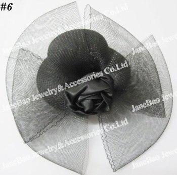 free shipping 50pcs Hair Clip Accessories Mini Top Hat
