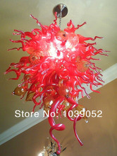 Beautiful Style Home Deco Flush Mount K9 Crystal Chandelier
