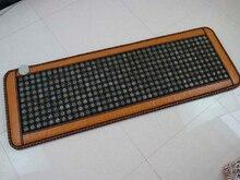 Free Shipping for Tourmaline Heat Cushion Natural Jade Physical Therapy Mat Yoga Heat Cushion Health Care Cushion 150x50cm