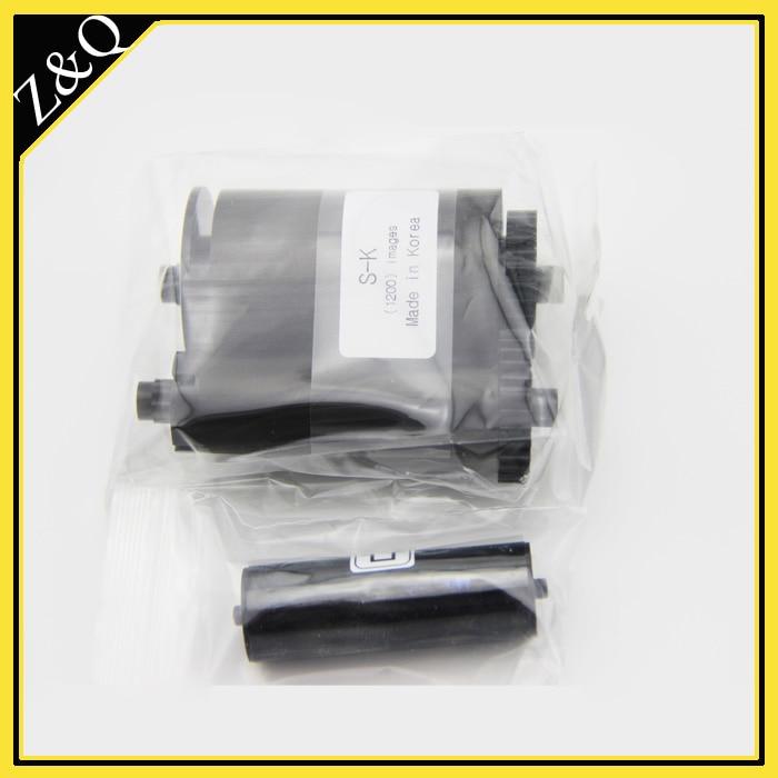 ID de tarjeta inteligente IDP original cinta NEGRA 650740 SIADC-P-K - Electrónica de oficina