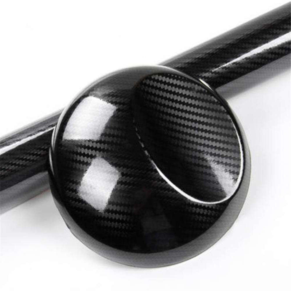 152x200 cm bricolage voiture autocollant 5D carbone haute brillance Film vinyle emballage Auto Fiber de carbone vinyle Film Fiber carbone noir