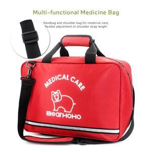 Image 5 - 높은 품질 핸디 빈 응급 처치 가방 응급 키트 간호사/의사 의료 장비 악기 가방 가족 병원