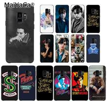 MaiYaCa American TV Riverdale Jughead Jones Crown TPU Soft Phone Case for Samsung Galaxy S8 S7 edge S6 edge plus S5 S9plus case(China)