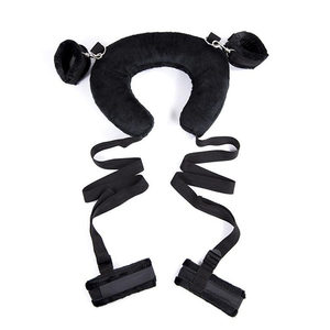 Image 3 - Sex Toys for Adults Couples Fetish Easy Open Leg Slave SM Game Bondage Kit Sexy Role Play Neck Pillow Handcuffs Ankle Cuffs
