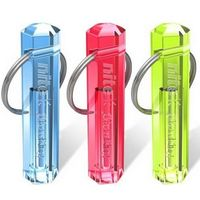 New Nite Tritium Glowing Illuminated Keyring Keychain Glow Stick Ring 10 Years
