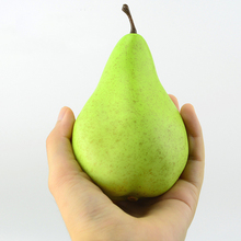 High simulation green pear model / fake fruit furnishings / shop decoration display cabinets display props