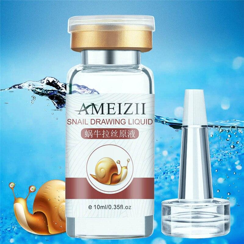 10 мл Ameizii, эссенция улитки, уход, увлажняющая, Антивозрастная эссенция, косметика для лица, гладкое отбеливание кожи, выцветающие пятна, эластичность