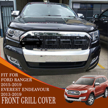 front grill cover with LED light ABS plastic car accessories decoration for FORD everest endeavour ranger