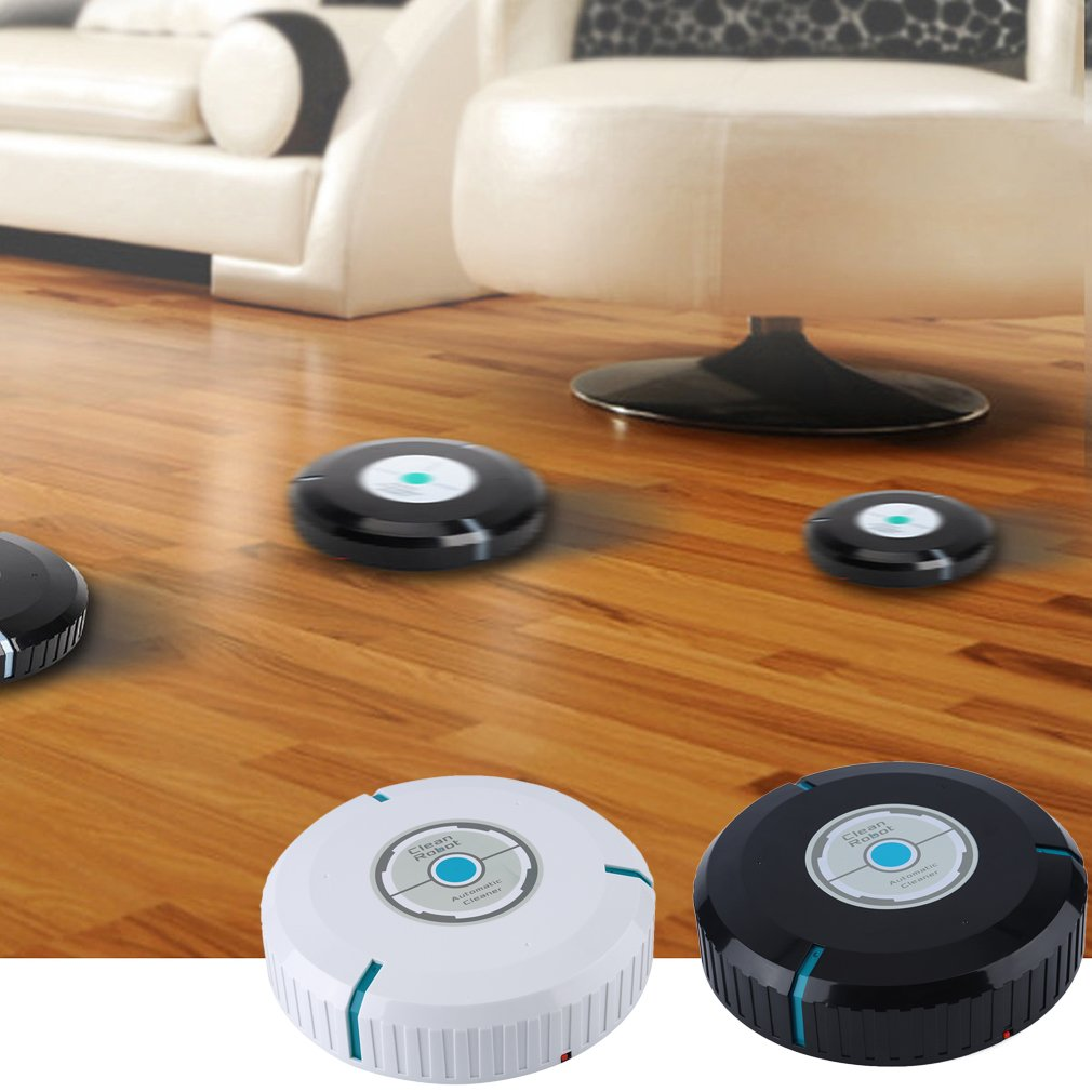 Home Auto Cleaner Microfiber Smart Robotic Mop Floor Dust Clean Robot Corners House Cleaning Vacuum black Drop Shipping 2018 New in Sanitary Ware Suite from Home Improvement