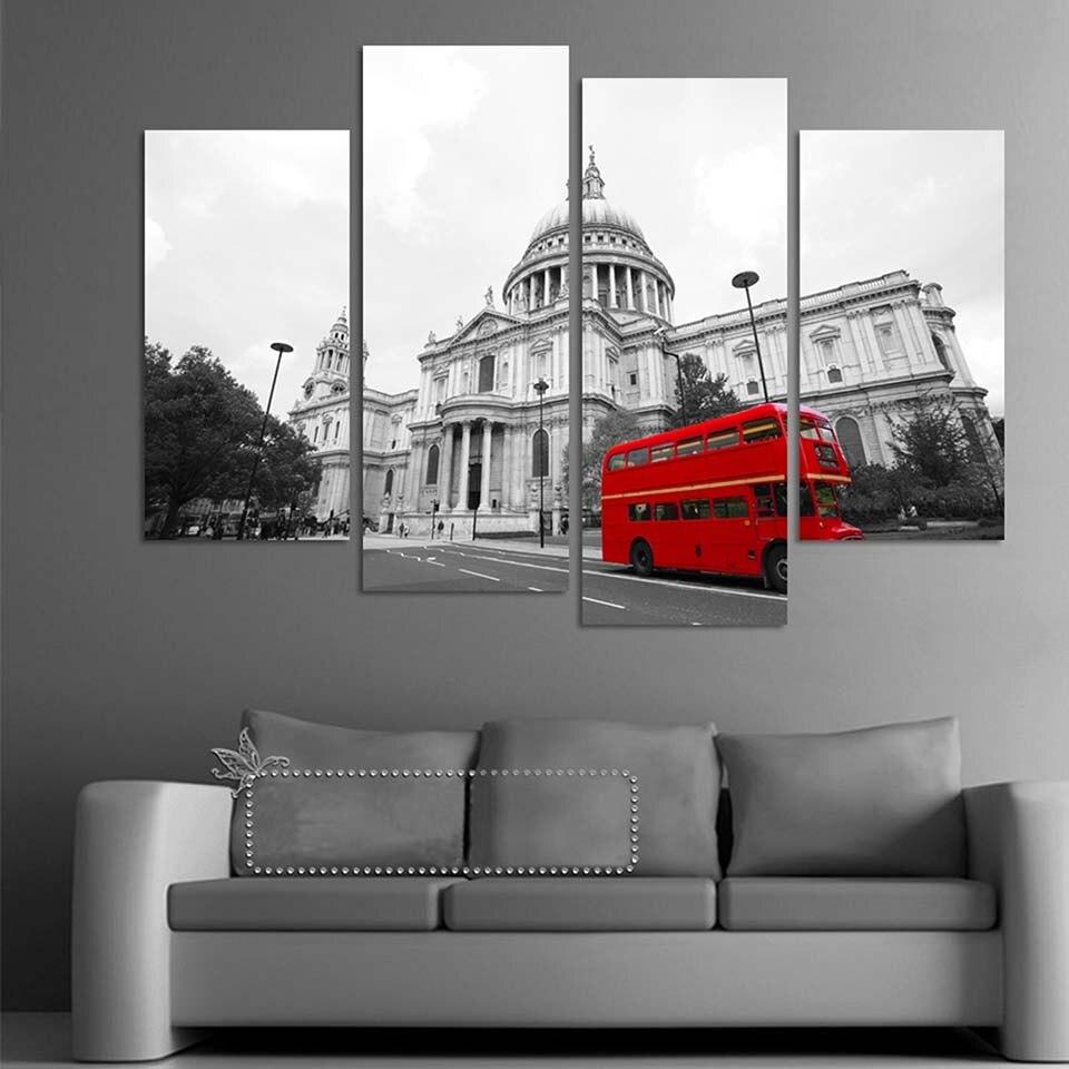 Home Decor Stores London: Aliexpress.com : Buy Modular Wall Art Canvas Paintings