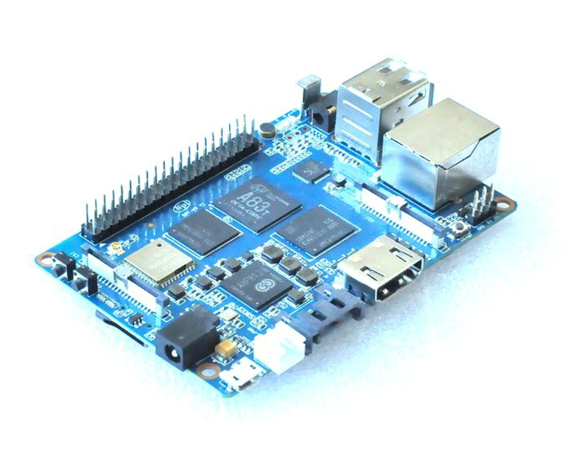 Banana Pi M3 BPI M3 A83T Cortex A7 Octa core 2GB RAM with WiFi Bluetooth BT4