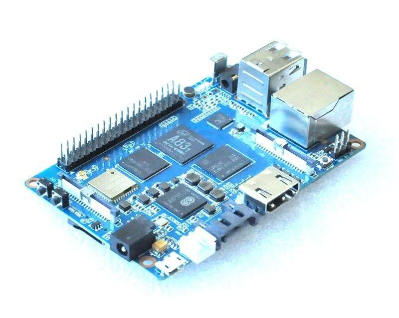 Prix pour Banane Pi M3 BPI-M3 A83T Cortex-A7 Octa-core 2 GB RAM avec WiFi Bluetooth BT4.0 HDMI USB Ouvert-source Conseil de Développement Carte de Démonstration