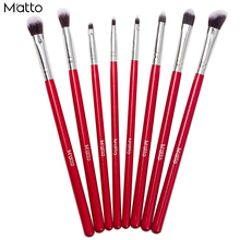 Matto Eye Makeup Brushes 8 Pcs Professional Makeup Brush Set Cosmetics Eyeliner Eyeshadow Make Up Tools Beauty Pencil Brush Kits(China)
