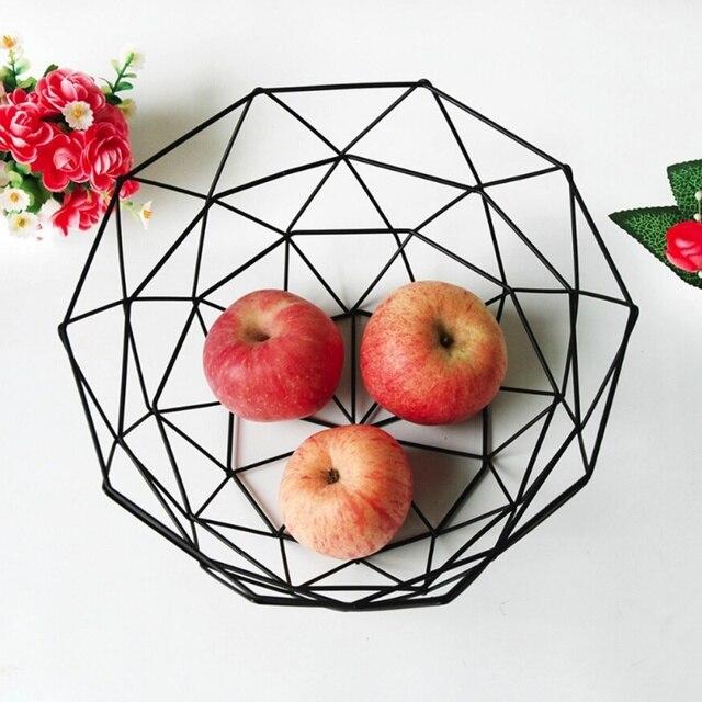 Cesta Para O Armazenamento De Frutas Lanches Organizador Organizador do Desktop Slaapkamer Keuken Conheceu Decoratie Mand Nórdico De Armazenamento de Escritório Em Casa