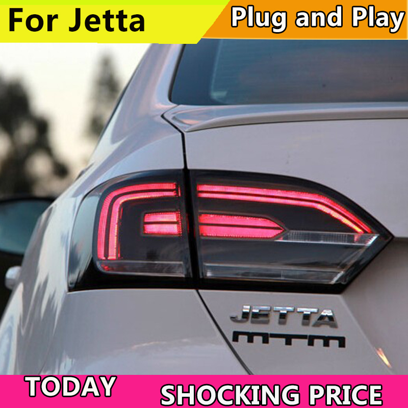 Car Styling Tail Lamp for VW Jetta Tail Lights Jetta MK6 LED Tail Light LED Signal LED DRL Stop Rear Lamp Accessories free shipping super bright for vw jetta daytime lights led drl day fog lamp light for sagitar jetta mk6 11 12 1 1 replacement page 9